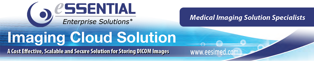 EESI cloud storage solution for for protecting and storing DICOM images in compliance with HIPAA and HITECH standards